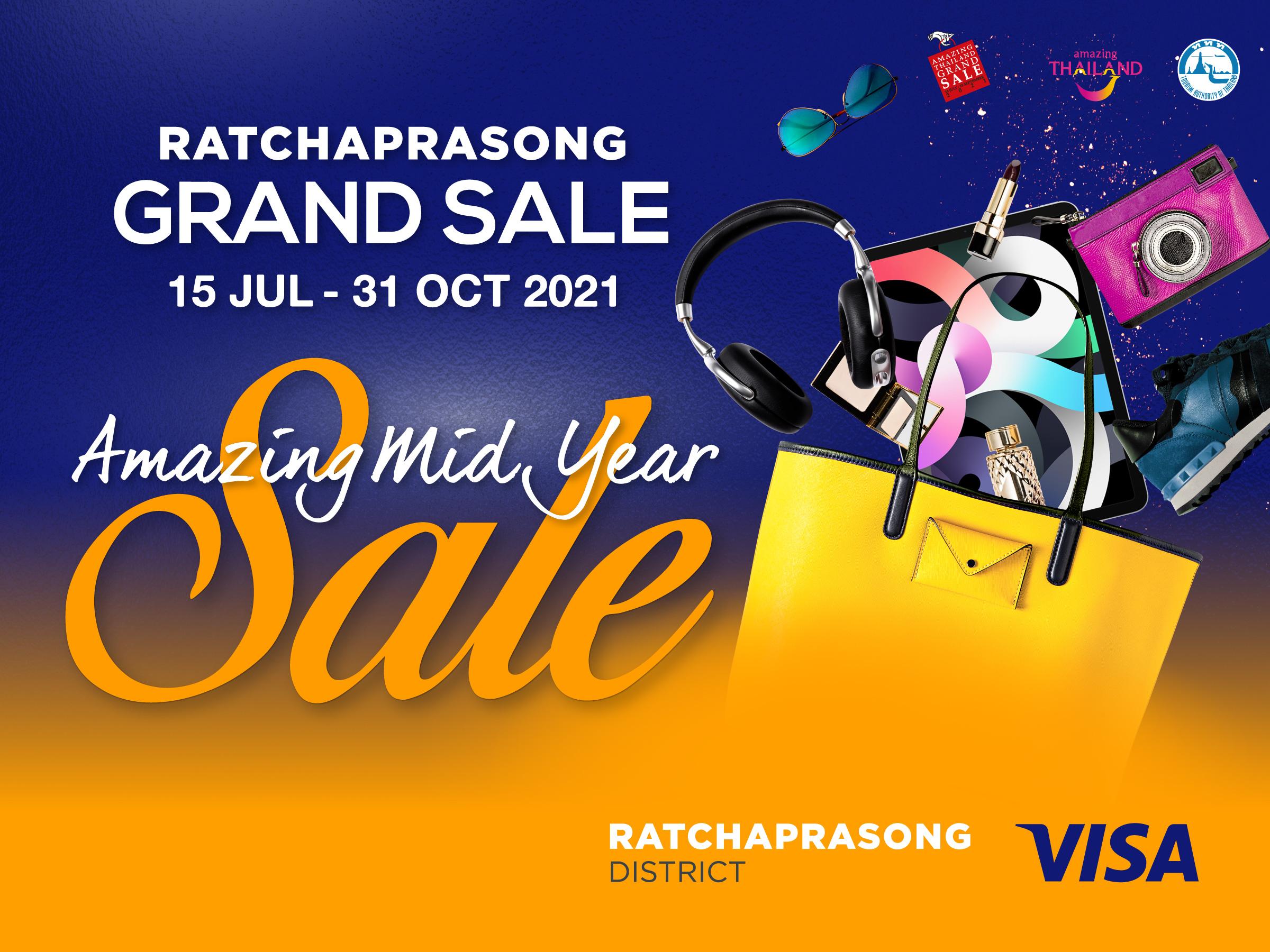 Ratchaprasong Grand Sale 2021 Amazing Mid Year Sale